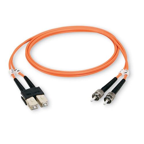 Fiber Optical Duplex Cable ST//ST 62.5//125µm OM1 10m