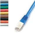 CAT5e FTP Patch Cable, 350-MHz, Solid, PVC