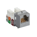 GigaTrue® 2 UTP Cat6 Keystone Jack - 110 Punchdown Type