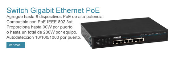 Switch Gigabit Ethernet PoE