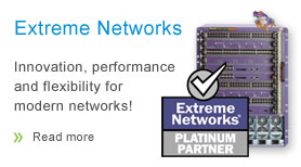 Extreme Networks platinum partner