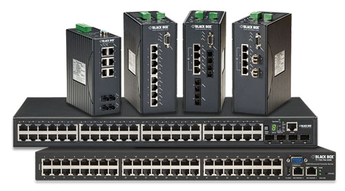 black box ethernet industrial switches